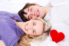 Free Young Loving Couple Stock Image - 8396731