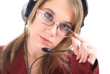 Free Friendly Customer Support, Isolated Stock Image - 8397261