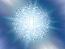 Free Bright Abstraction As A Sphere Royalty Free Stock Image - 8397896