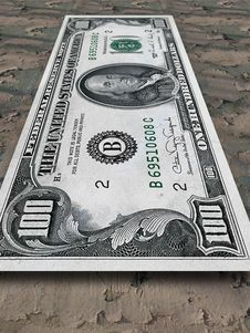 Free One Hundred Dollars Stock Photos - 8398343