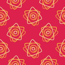 Free Seamless Red Pattern Stock Photography - 8398382