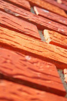Free Red Brick Wall Stock Image - 8398731