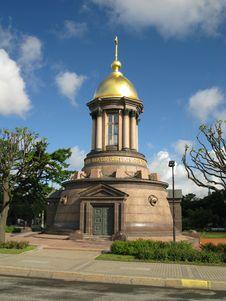 Free Orthodox Chapel In St.Petersburg Stock Photos - 8398953