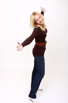 Free Girl Portrait Stock Photo - 8398990