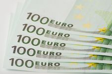 Cash Euro Stock Images