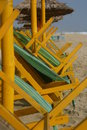 Free Deck Chairs Royalty Free Stock Photography - 840047