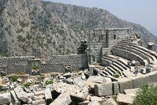 Free Thermessos Ruins 3 Stock Photo - 840130