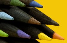Free Color Pencils Stock Image - 841121