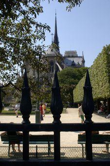 Free Paris 29, Notre Dame Royalty Free Stock Photos - 843988