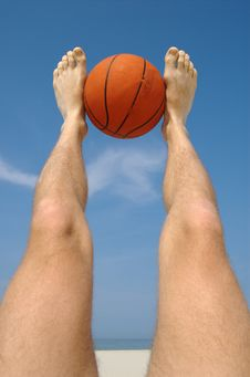 Free Only Basketball! Royalty Free Stock Photography - 844017