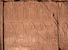 Hieroglyphs, Egypt Stock Photos