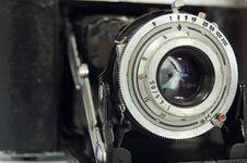 Free Retro Rangefinder Camera Stock Photo - 844900