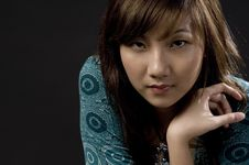 Free Pale Asian Beauty Royalty Free Stock Image - 845846