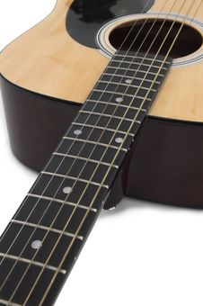 Free Acoustic Guitar Royalty Free Stock Photography - 846077