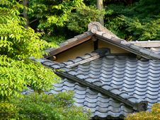 Free Japanese Roof Royalty Free Stock Photos - 846248
