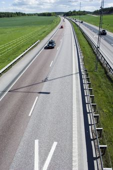 Elevated View Of New Highway Royalty Free Stock Photography