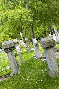 Free Cemetary Royalty Free Stock Image - 847766