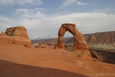 Free Delicate Arch Royalty Free Stock Images - 848449