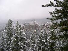 Free Banff Hotel 6 Stock Image - 849271