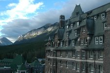 Free Banff Hotel 13 Stock Photography - 849292
