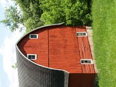 Free Red Barn Stock Image - 849381