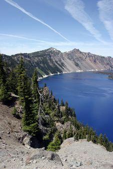Free Crater Lake Stock Image - 849721