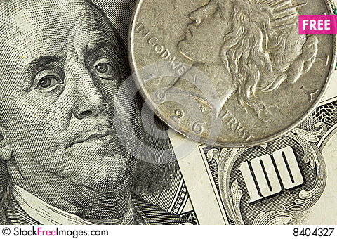 Free Money Royalty Free Stock Photography - 8404327