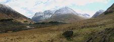Free Glen Coe Panorama Stock Image - 8400021
