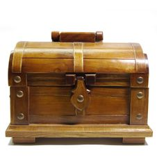 Free Treasure Chest Royalty Free Stock Photography - 8400427