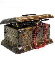 Free Treasure Chest Royalty Free Stock Photo - 8400435