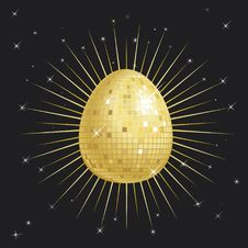 Free Easter Egg Glitter Ball Stock Photo - 8400850