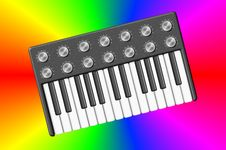 Free Psychedelic Synthesizer Royalty Free Stock Photography - 8401247