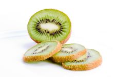 Free Sliced Kiwi Fruit Stock Images - 8401404