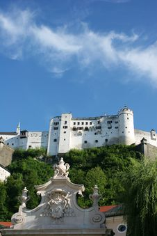 Free Hohensalzburg Fortress Royalty Free Stock Images - 8401639