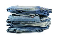 Free Blue Jeans Royalty Free Stock Photos - 8402148