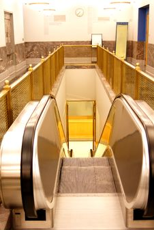 Free Escalator Stock Photography - 8402352