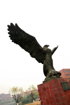 Free Eagel Statuary Stock Image - 8402491