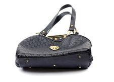 Black Woman Handbag Stock Photos