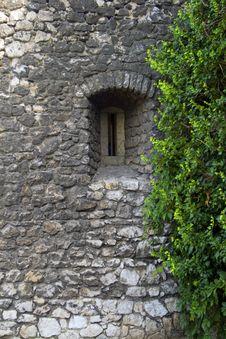 Free Stone Window Royalty Free Stock Photo - 8402965