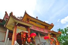 Free Chinese Temple Royalty Free Stock Photography - 8403507
