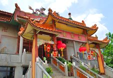 Free Chinese Temple Royalty Free Stock Photos - 8403548