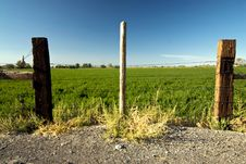 Free Rustic Farm Fence Royalty Free Stock Photo - 8403675
