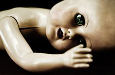 Broken Doll Stock Photography