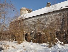 Free Old Abandoned Dairy Farm Stock Images - 8403754