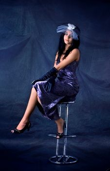 Beautiful Brunette Royalty Free Stock Photography
