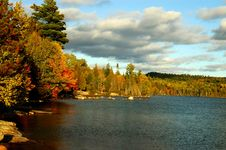 Free Bay On Flack Lake Stock Photo - 8404050