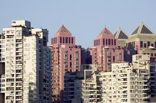Free Residential Buildings In China Stock Photography - 8404352