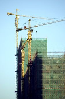 Free Buildings Under Construction Royalty Free Stock Photos - 8404358