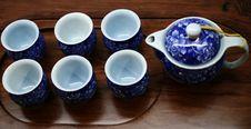 Free Tea Pot Set Stock Photo - 8405080