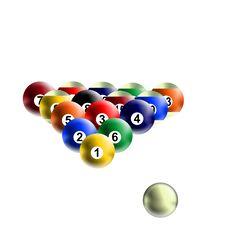 Free Billiard Balls Stock Photos - 8405513